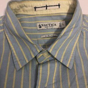 Nautica Shirts - Nautical heritage long sleeve
